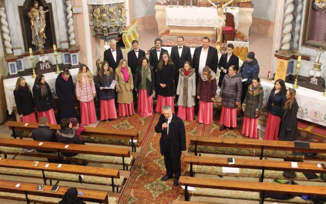Koncert v Rímskokatolíckom kostole v Štrbe