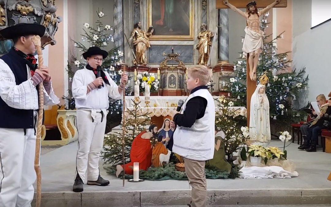 Jasličková pobožnosť 2018